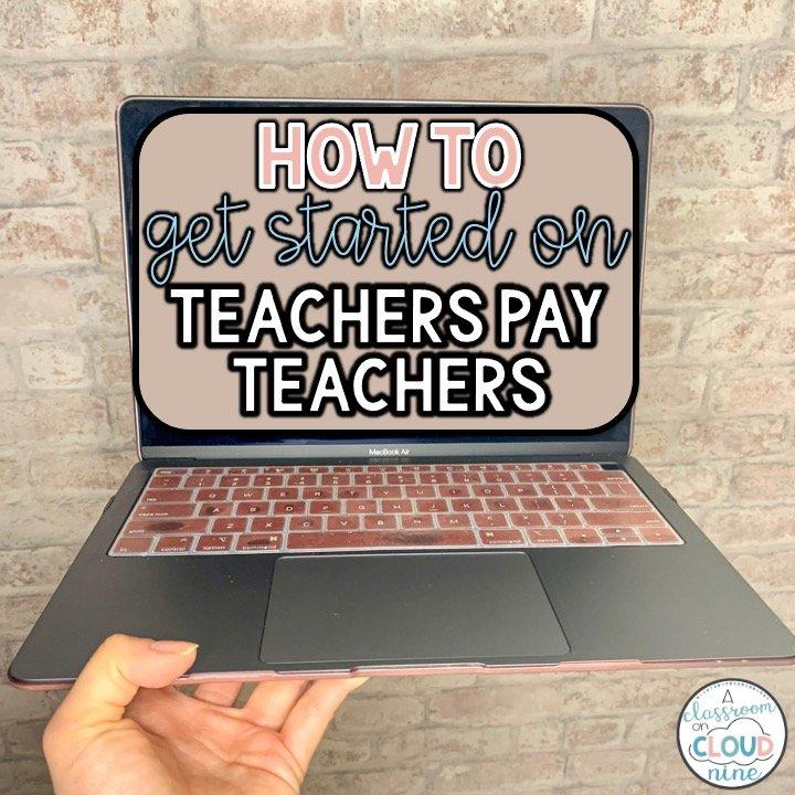 How To Get Started on Teachers Pay Teachers